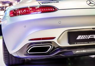 Mercedes AMG Back