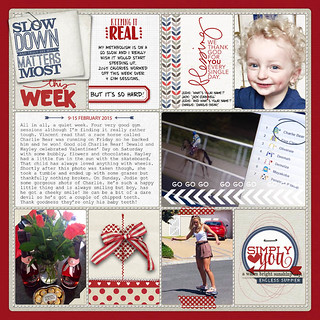 Project life 2015 - Week 7