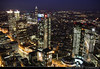 View from Main Tower @ Night, Frankfurt, Germany by JH_1982