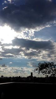 #sky #blue #day #sun #clouds #white #br #céu #azul #nuvens #cool #nice #morning #evening #likes