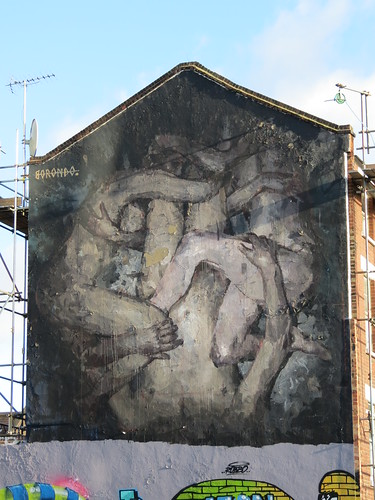 Shoreditch street art - Borondo