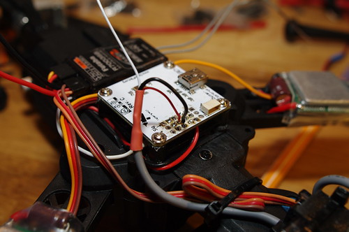 FPV Camera power source