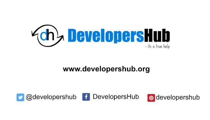 DevelopersHub.org – its a true help for your development, career and blogs.