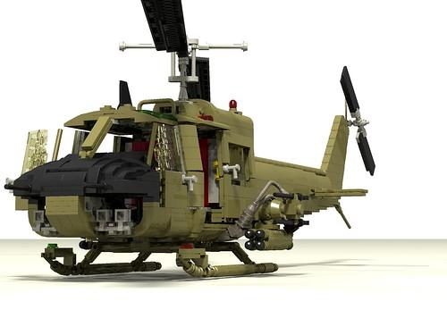 UH-1B Huey Hog front left