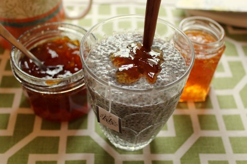 Earl Grey Chia Pudding with Marmalade