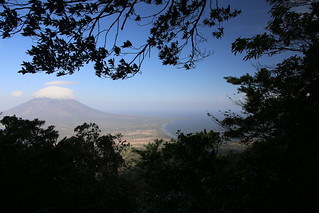 View to La Conception halfway up Volcano Maderas.  Ometepe, Nicaragua.