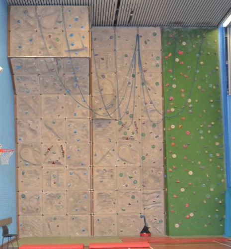 Waterlane Leisure Centre - Climbing Wall