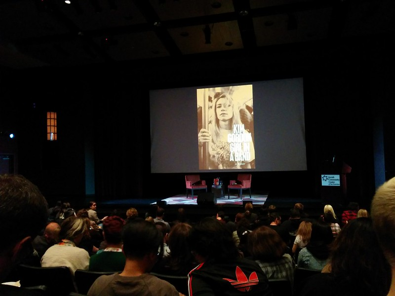 Carrie Brownstein interviews Kim Gordon, book talk 'Girl in a band' at the JCC.