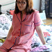 Marbled Pink Carolyn Pajamas