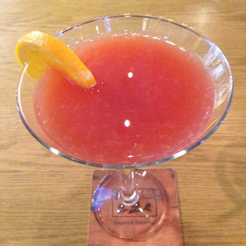 matt the millers blood orange martini