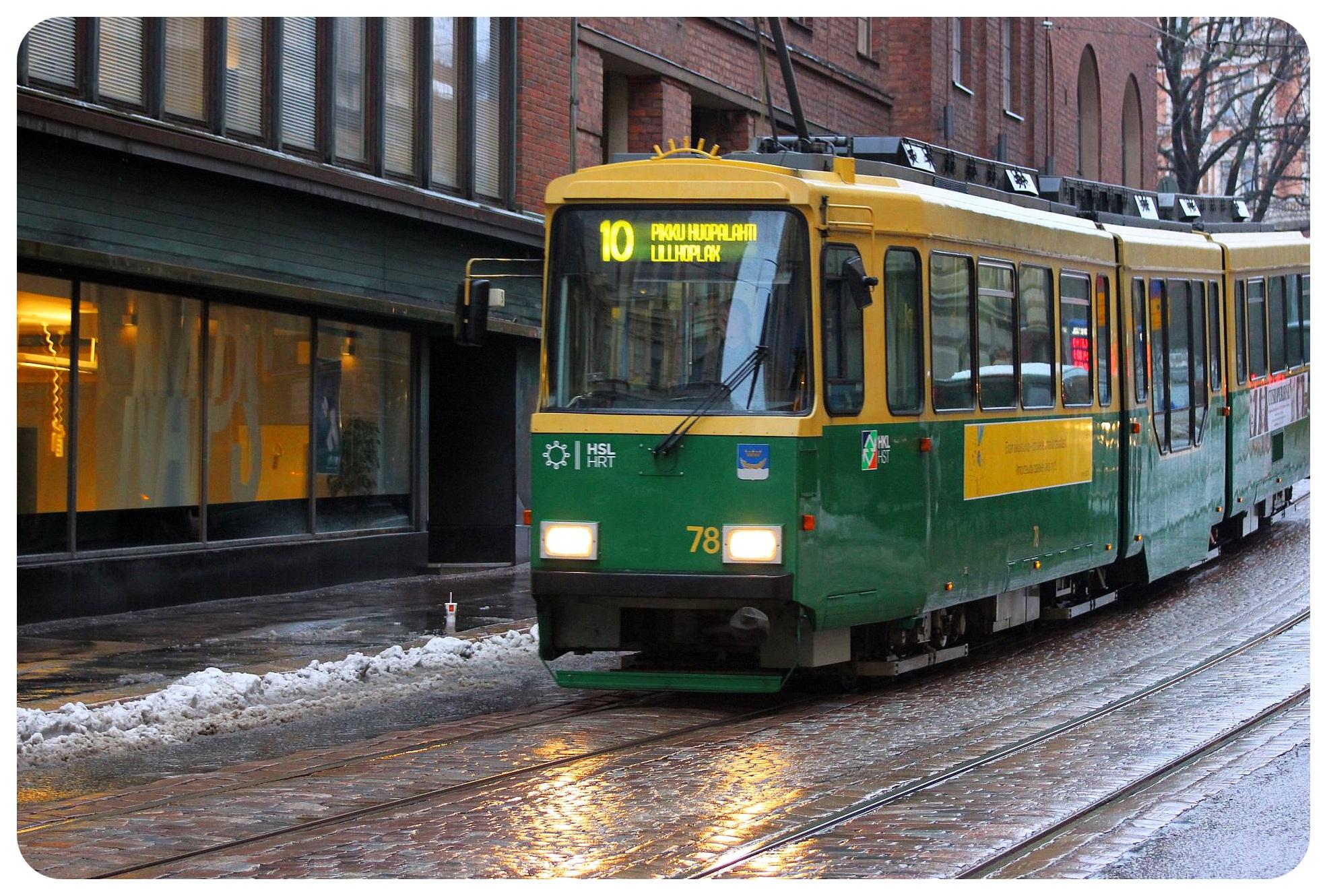finland helsinki tram