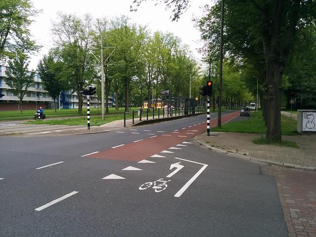 Buitenhofdreef at Van der Slootsingel