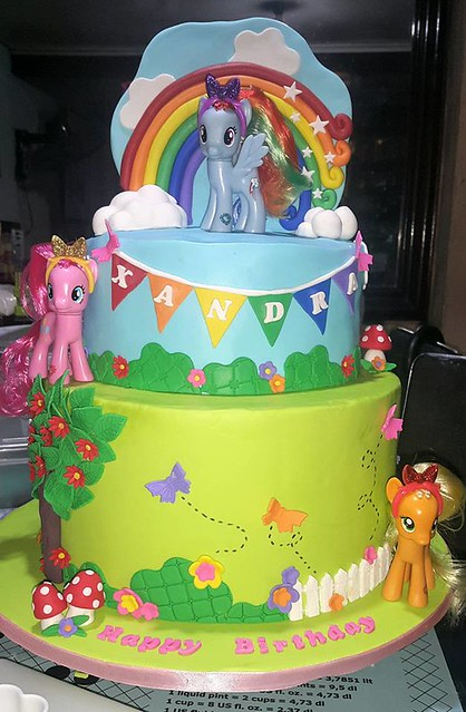 Little Pony Cake by Xyril Xantipi Sayo Pangilinan of Sweet Xandra