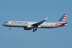 N114NN - American Airlines - Airbus 321T