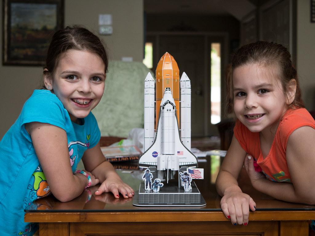 3D puzzle shuttle