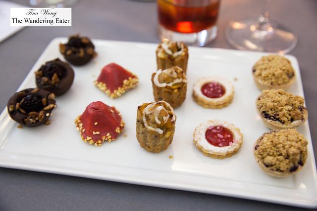 Dessert bites by Great Performances