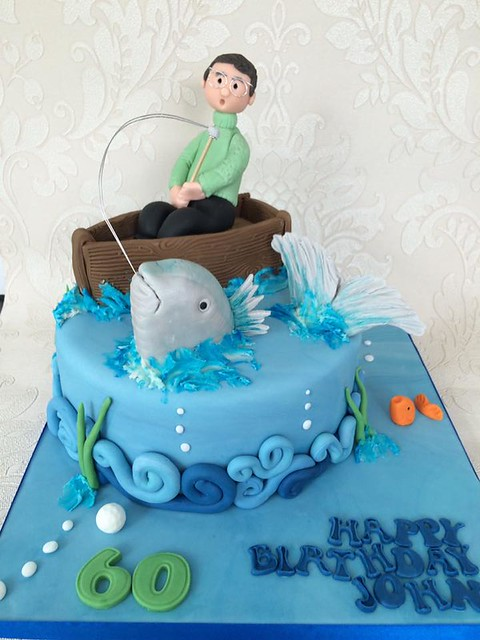 Fishermen Cake by Clare Hayward of Clare's Cakery