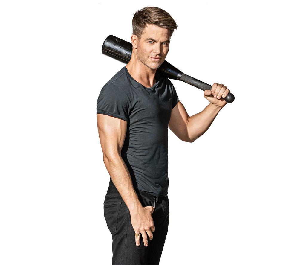Крис Пайн — Фотосессия для «Men's Fitness» 2016 – 6