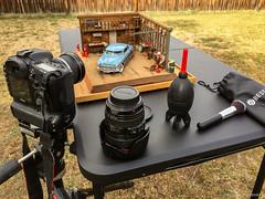 Behind the Scenes - Set ups