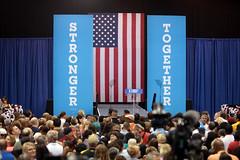 Michelle Obama stage