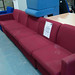 5 seater reception sofa