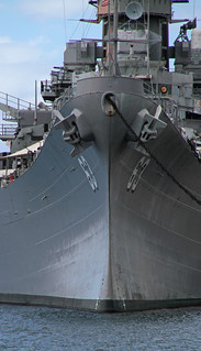 Image of USS Missouri. hawaii honolulu pearl harbor harbour