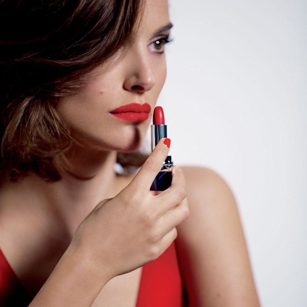 Натали Портман — Фотосессия для «Rouge Dior» 2016 – 2