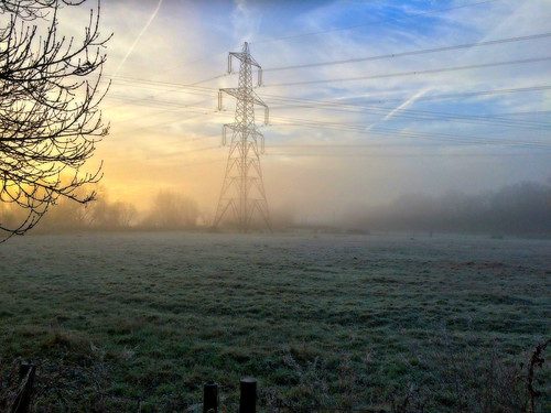 greatbritain autumn england sunlight sunrise frost oxfordshire iphone5s
