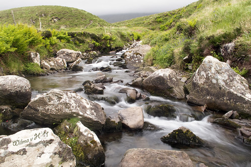ireland landscape rocks dingle eire kerry rivers streams dinglepeninsula brandoncreek dinglewayhiking