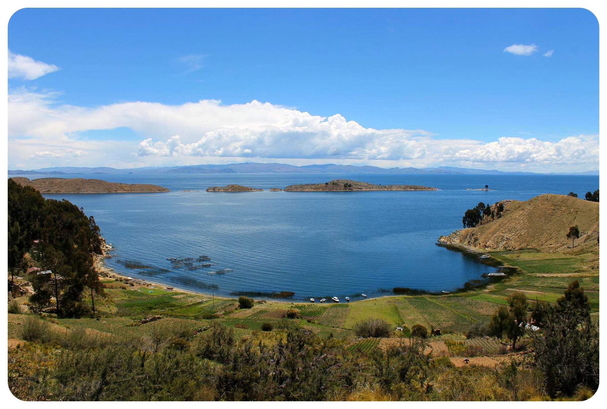 lake titicaca view