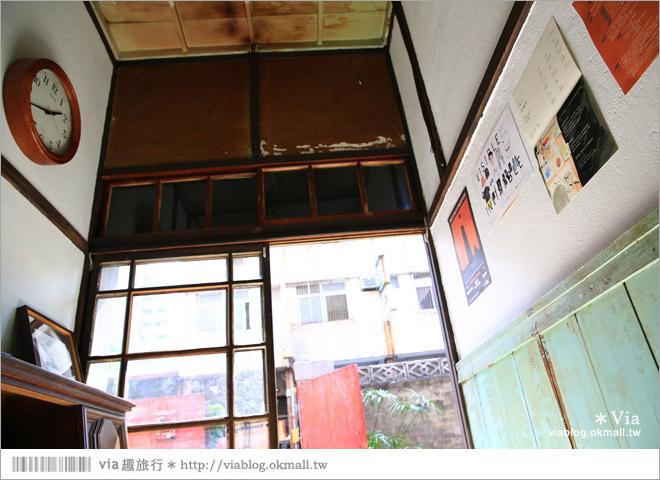【台中老宅餐廳】台中下午茶~拾光機。日式老宅的迷人新風情,一起文青一下午吧!10