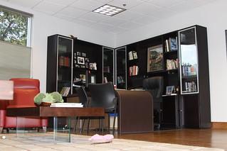Timney Owner John Vehr's Office