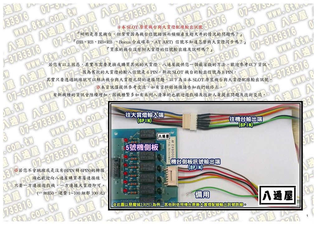 日本(原廠公佈)SLOT原裝機台與大賞燈配線輸出訊號2014-11-23_Page_01
