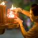 Longshan Temple - Candles