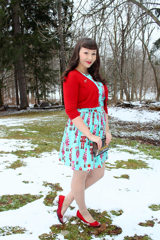 novelty print dress