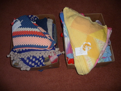 Shawls delivered today to Kingsleigh House, Birmingham.