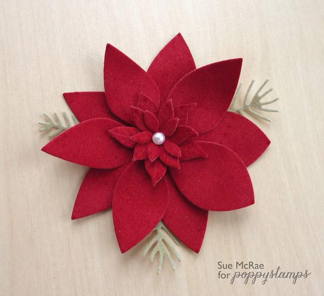 Velvet Poinsettia