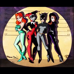 Femme Fatales, by Bruce Timm. #Comics
