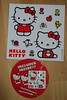 Hello Kitty sticker sheet from Tin Tastic tin