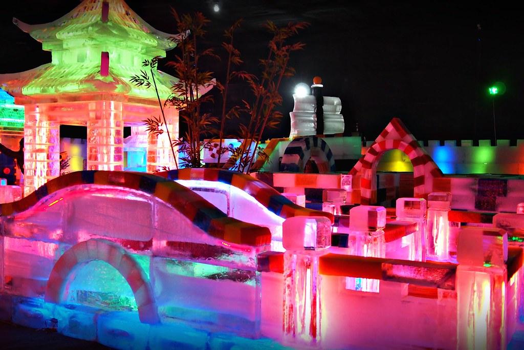 台中高鐵-2015正宗哈爾濱冰冰燈冰雕展-47