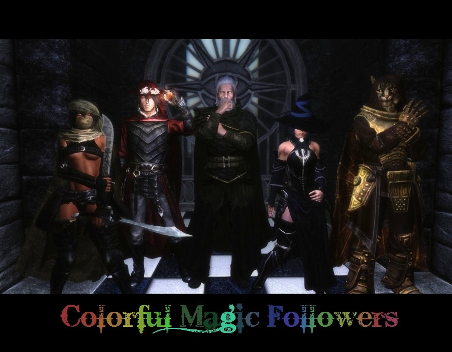 Colorful Magic at Skyrim Nexus - mods and community