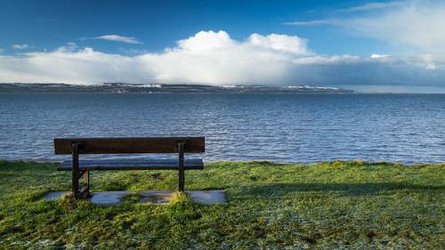 blue view showers snowcovered westkirby riverdee northwales pointofayr