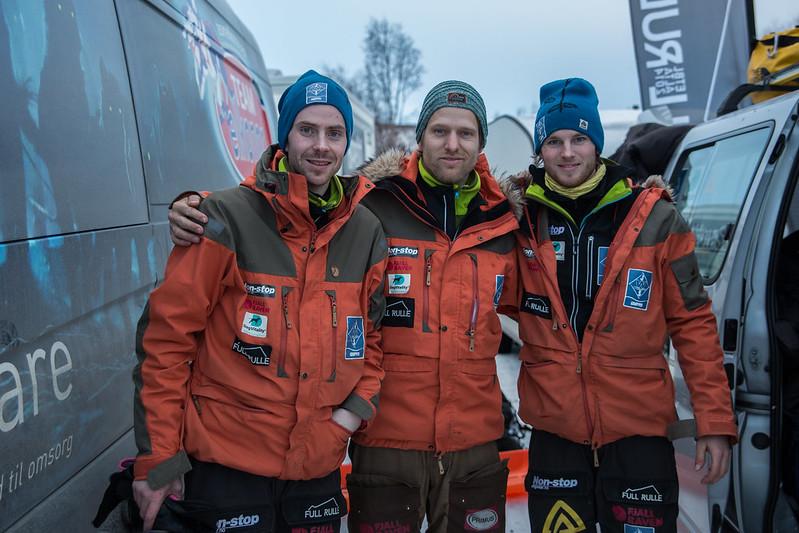 Fra venstre, Jostein Lindgren, Anved Kvammen og Eirik Fløtlien. Foto: Tommy Hansen