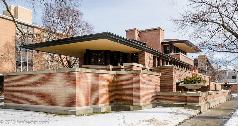 Robie House from West - Wide View