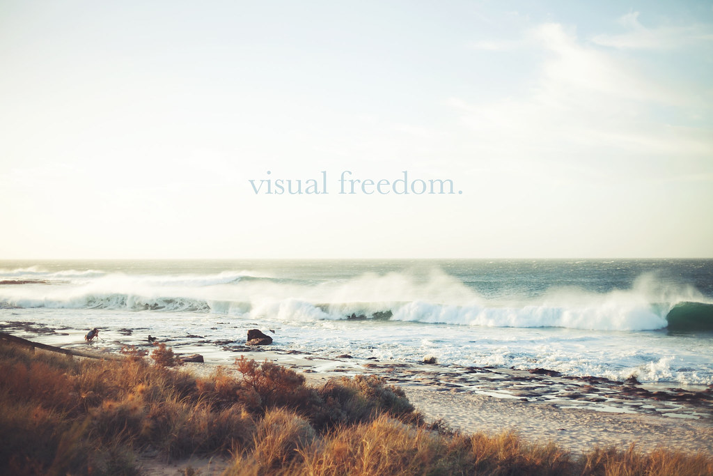visual freedom.