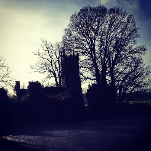 Church ruins at Cappagh,Co Waterford.