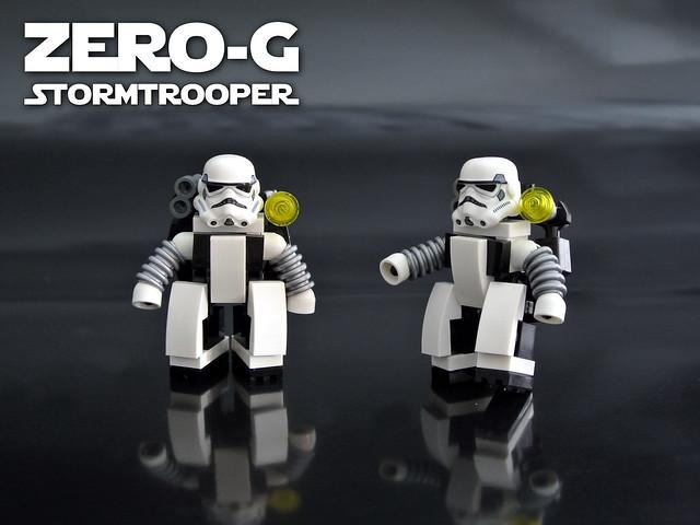 Zero-G Stormtrooper