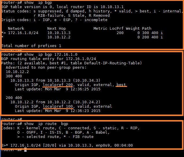 How to perform BGP traffic engineering using Quagga on Linux - Xmodulo