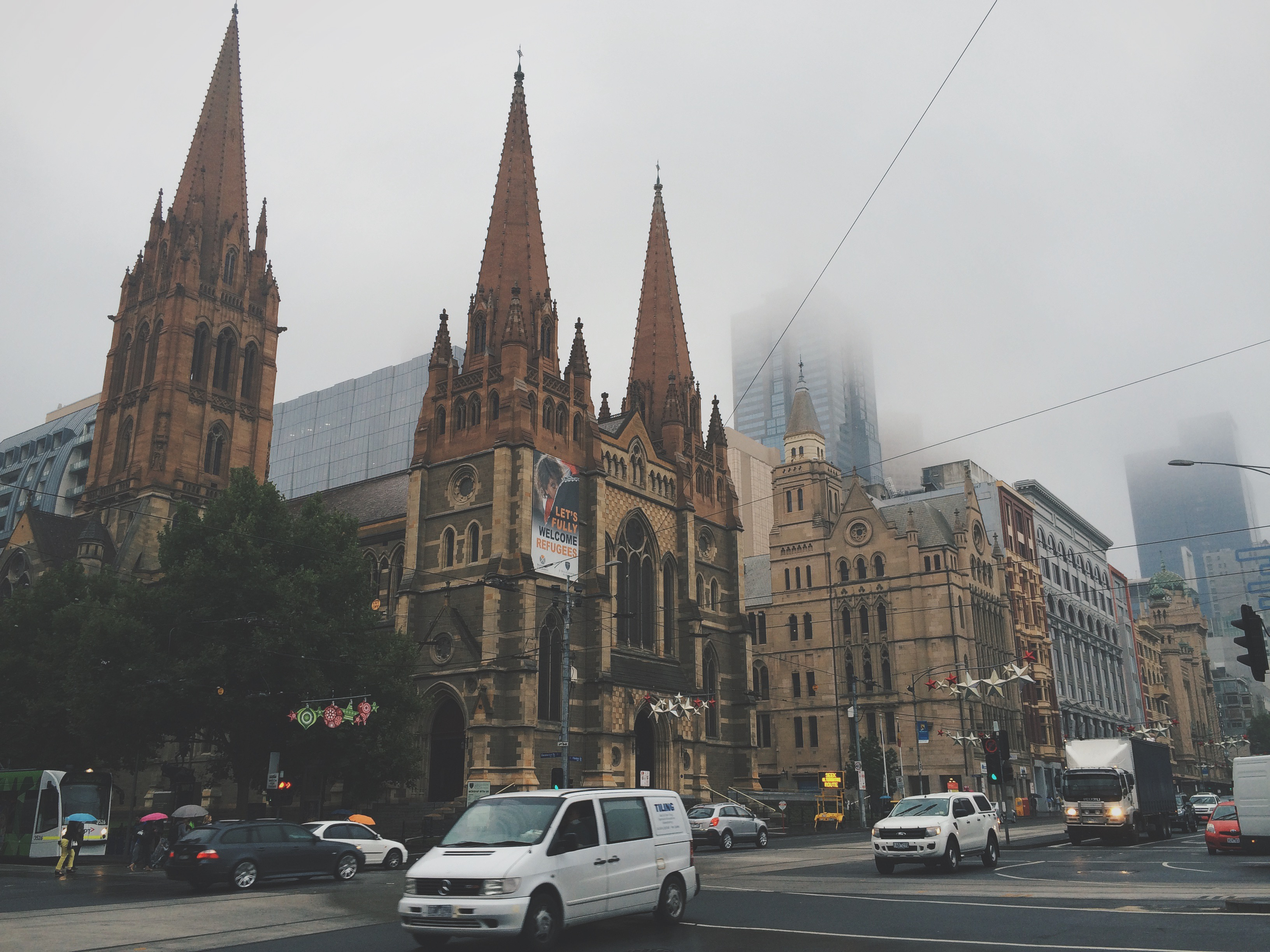 Bramble and Thorn, 7 Things, Melbourne, Flinders Street, Storm, Rain, Summer