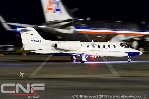 Learjet 35A D-CQAJ
